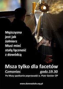 Msza św. tylko dla facetów